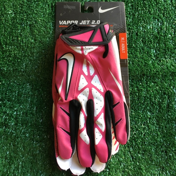 Nike Other - NIKE FOOTBALL GLOVES XL PINK BCA